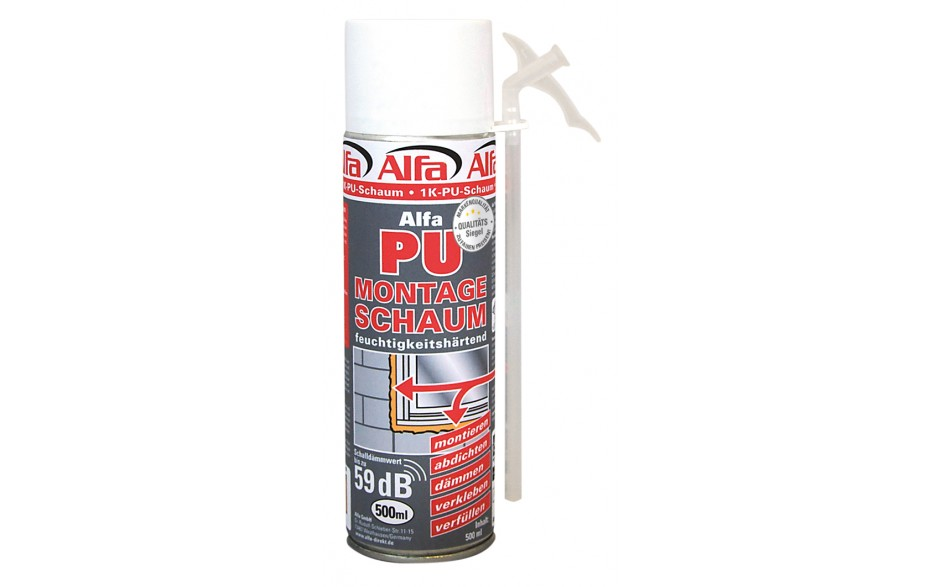 PU-Montageschaum (1K) 500 ml