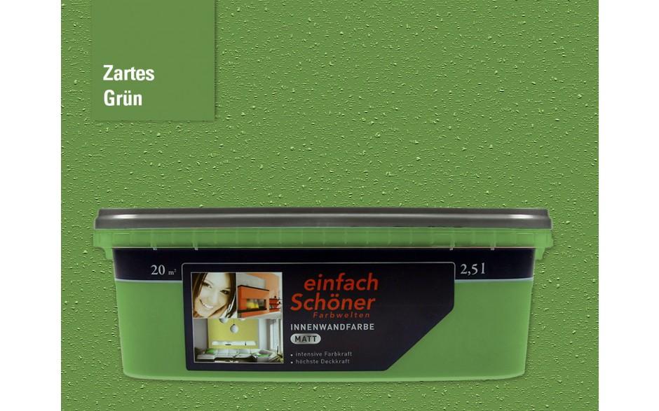 Wandfarbe zartes grün innen matt 2,5 Liter